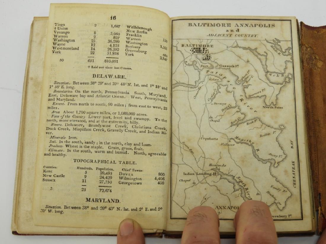 C.1818 John Melish Travelers Directory Map Book - 10