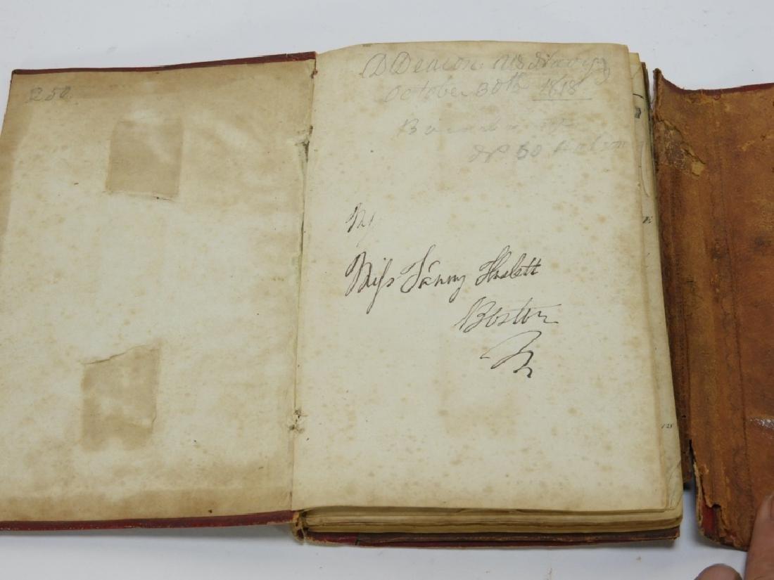 C.1818 John Melish Travelers Directory Map Book - 3