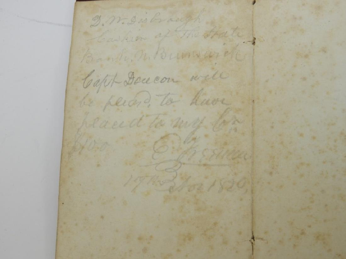 C.1818 John Melish Travelers Directory Map Book - 4