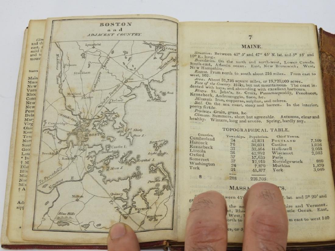 C.1818 John Melish Travelers Directory Map Book - 8