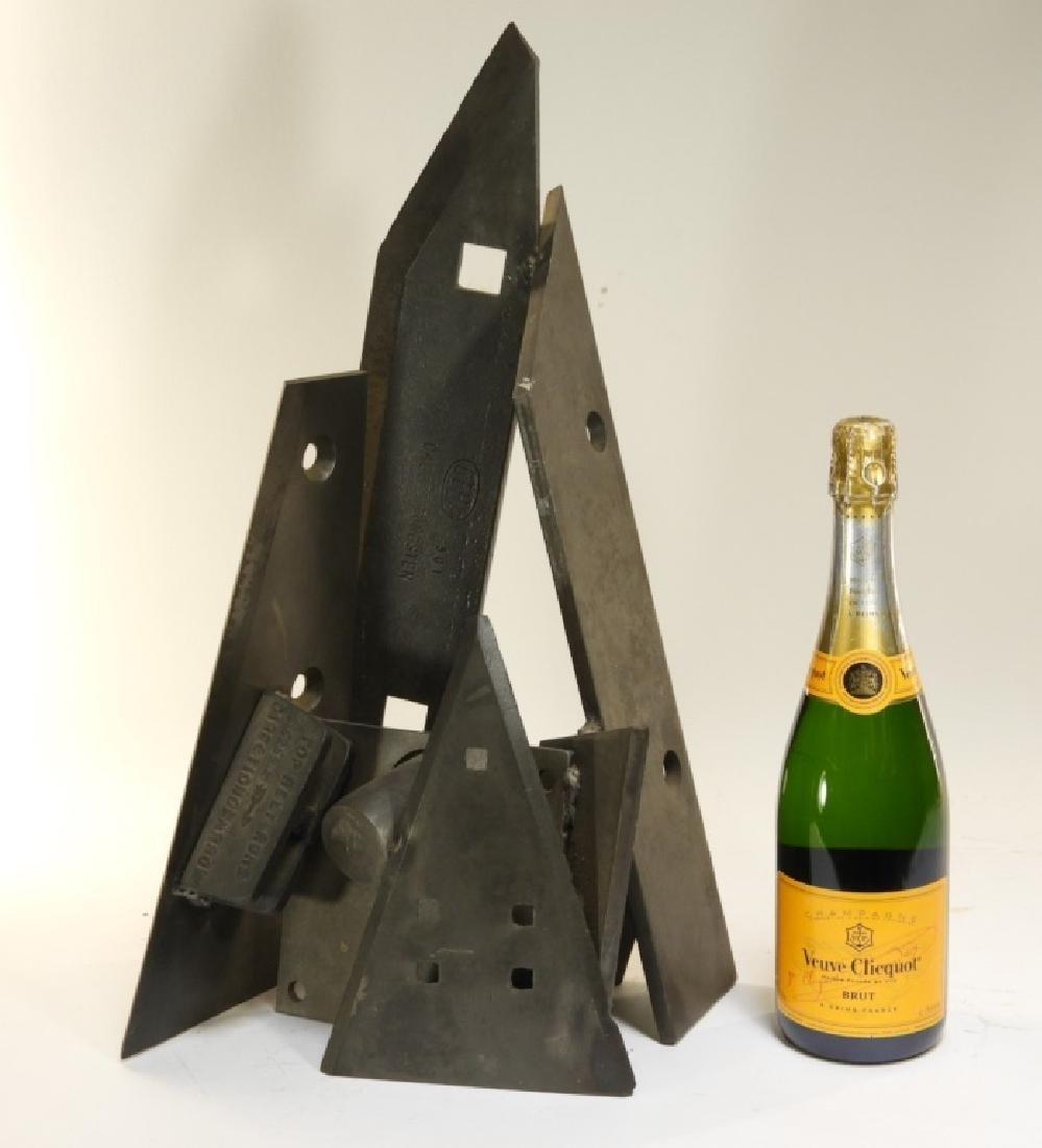 Arthur Kern MCM Abstract Welded Steel Sculpture - 8