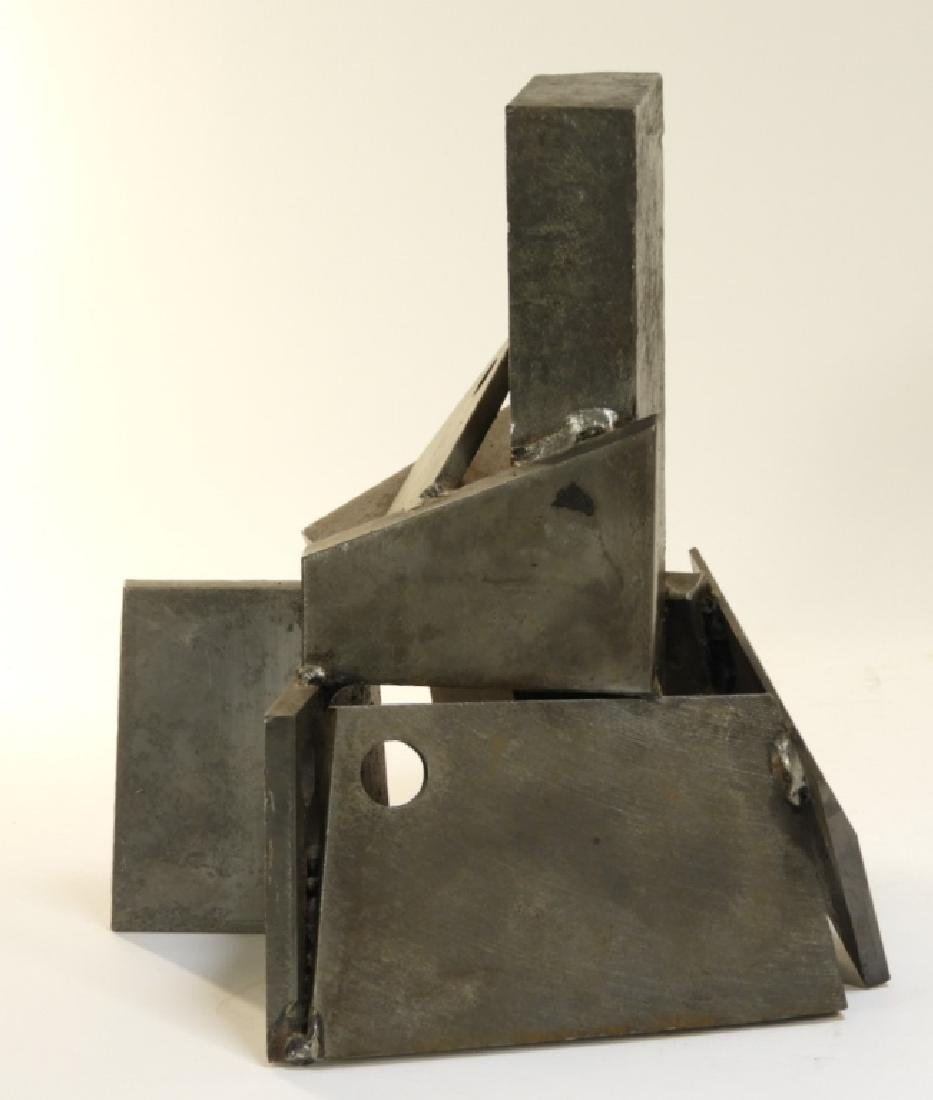 Arthur Kern MCM House of Cards Steel Sculpture - 4