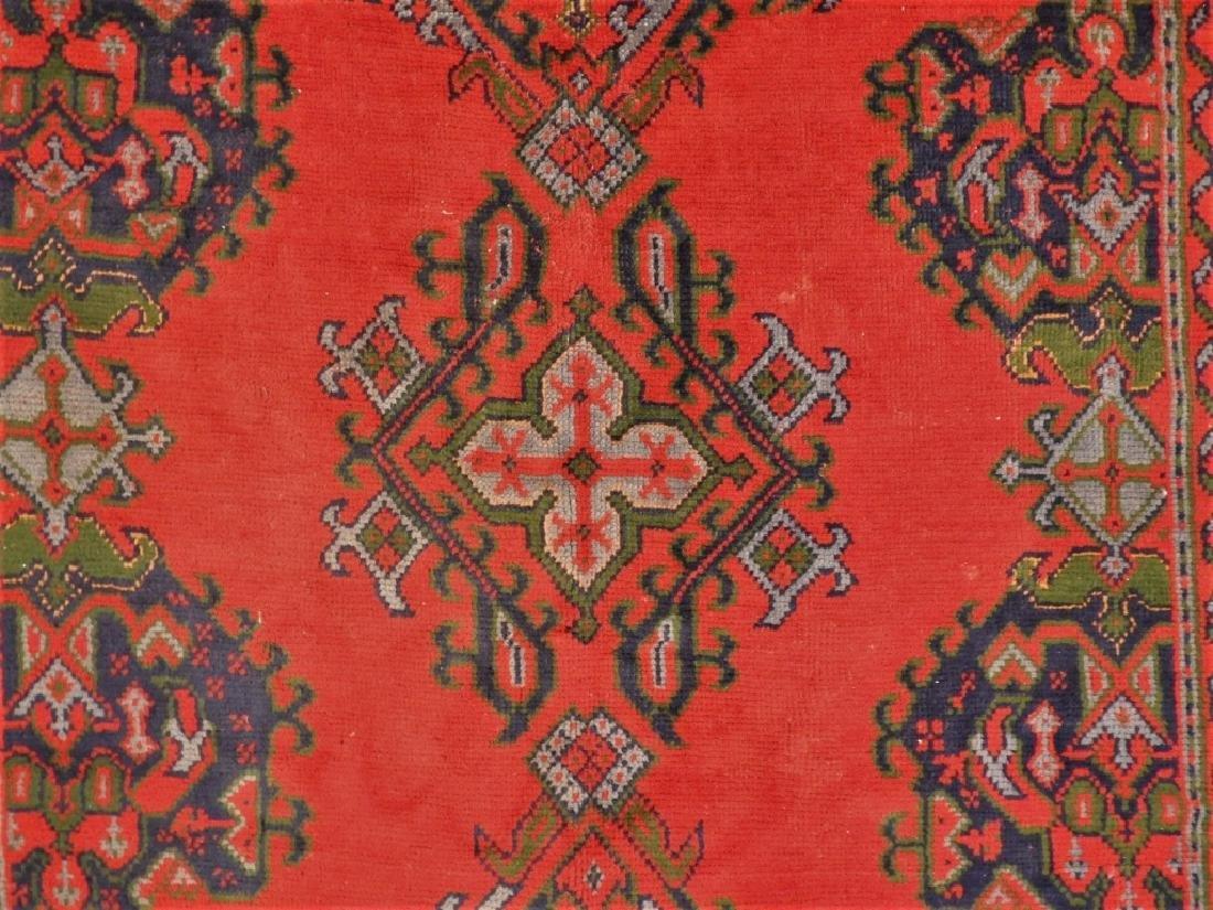 Oriental Turkish Oushak Wool Carpet Rug - 3