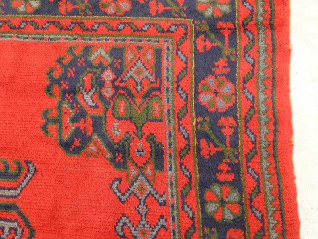 Oriental Turkish Oushak Wool Carpet Rug - 6