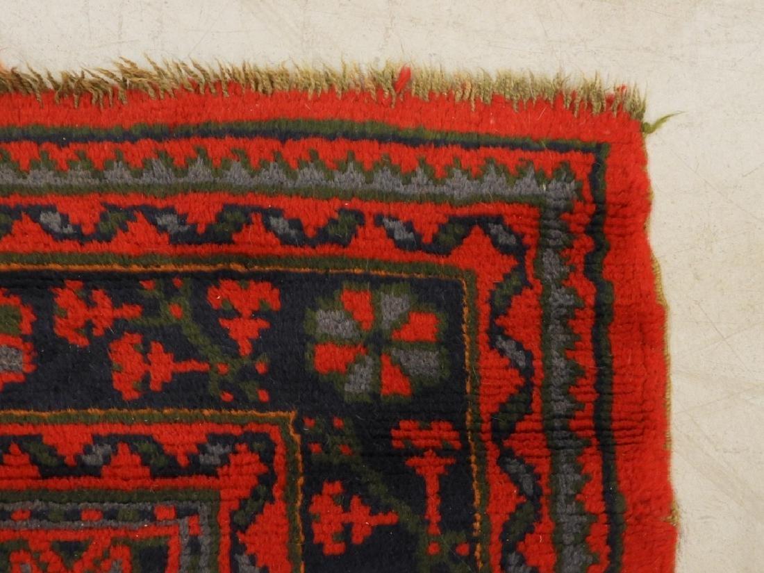 Oriental Turkish Oushak Wool Carpet Rug - 7