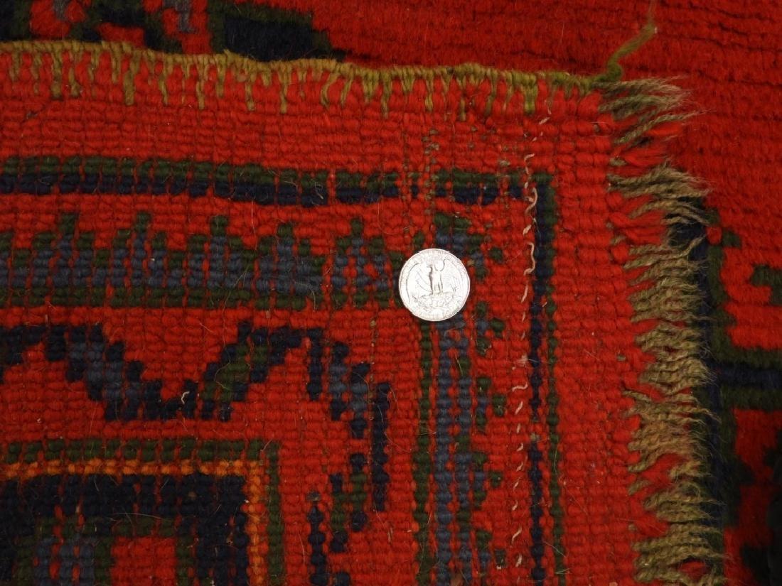 Oriental Turkish Oushak Wool Carpet Rug - 8