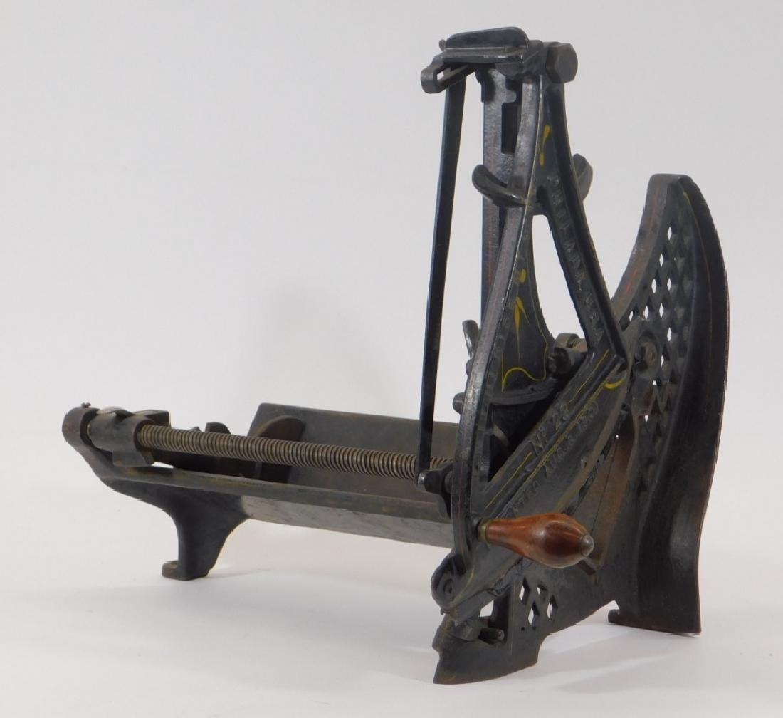 C.1893 Enterprise No. 23 Cast Iron Meat Cutter