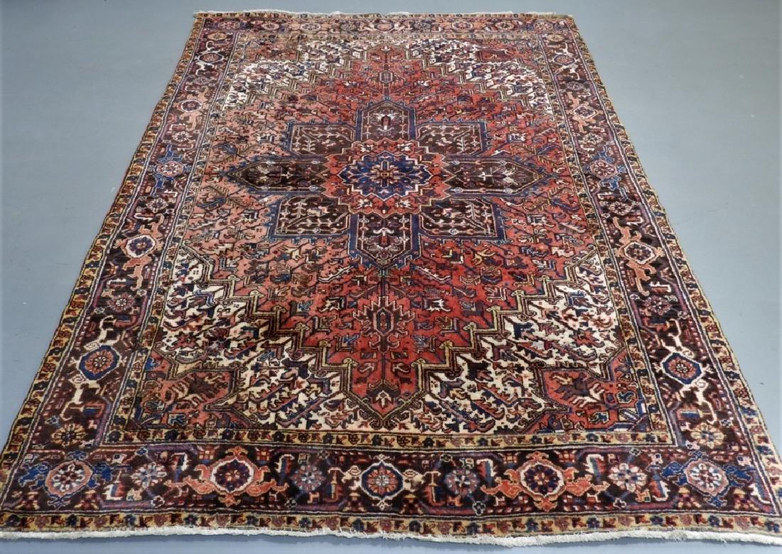 Oriental Persian Heriz Room Size Carpet Rug