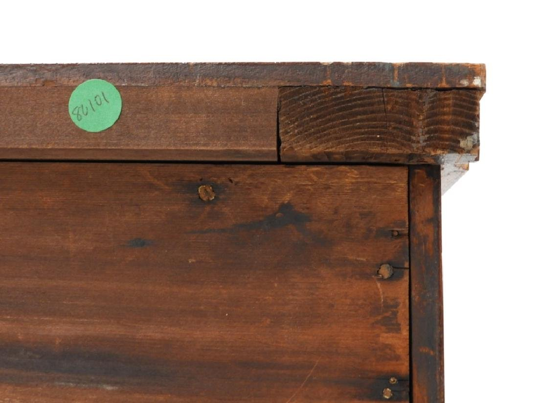 Massachusetts Federal Mahogany Bow Front Chest - 10