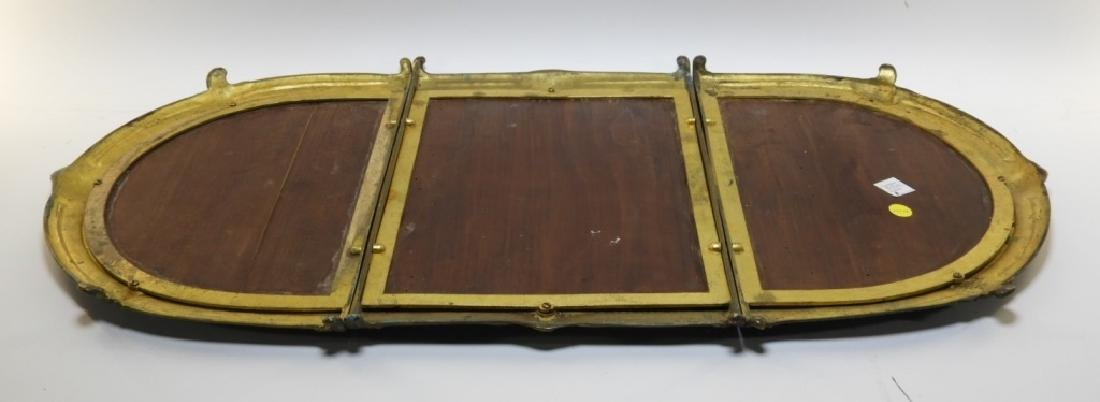 19C. French Bronze Plateau Mirror Dresser Tray - 6