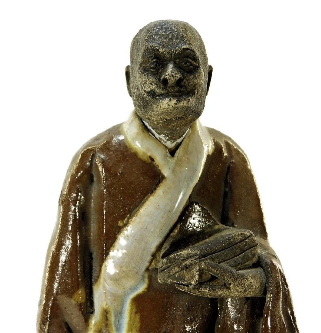 Chinese Ming Dynasty Cizhou Ware Pottery Figure - 2