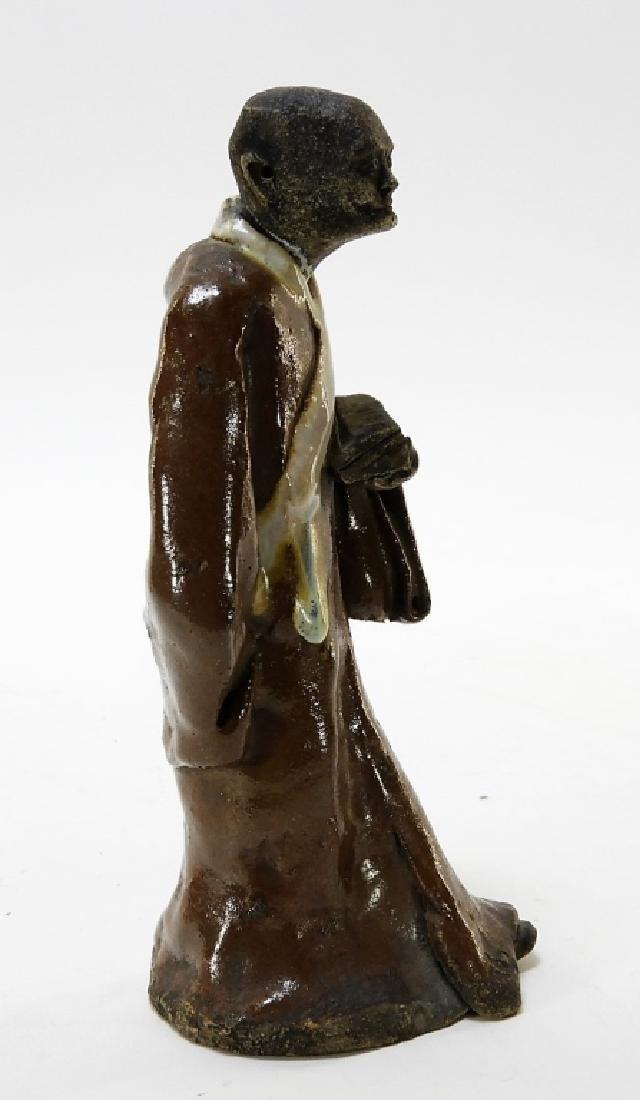 Chinese Ming Dynasty Cizhou Ware Pottery Figure - 3