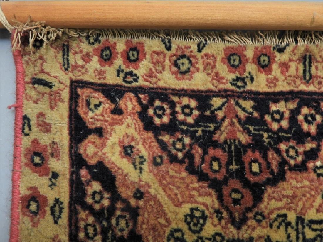 Oriental Persian Lavar Kerman Silk Wool Carpet Rug - 8