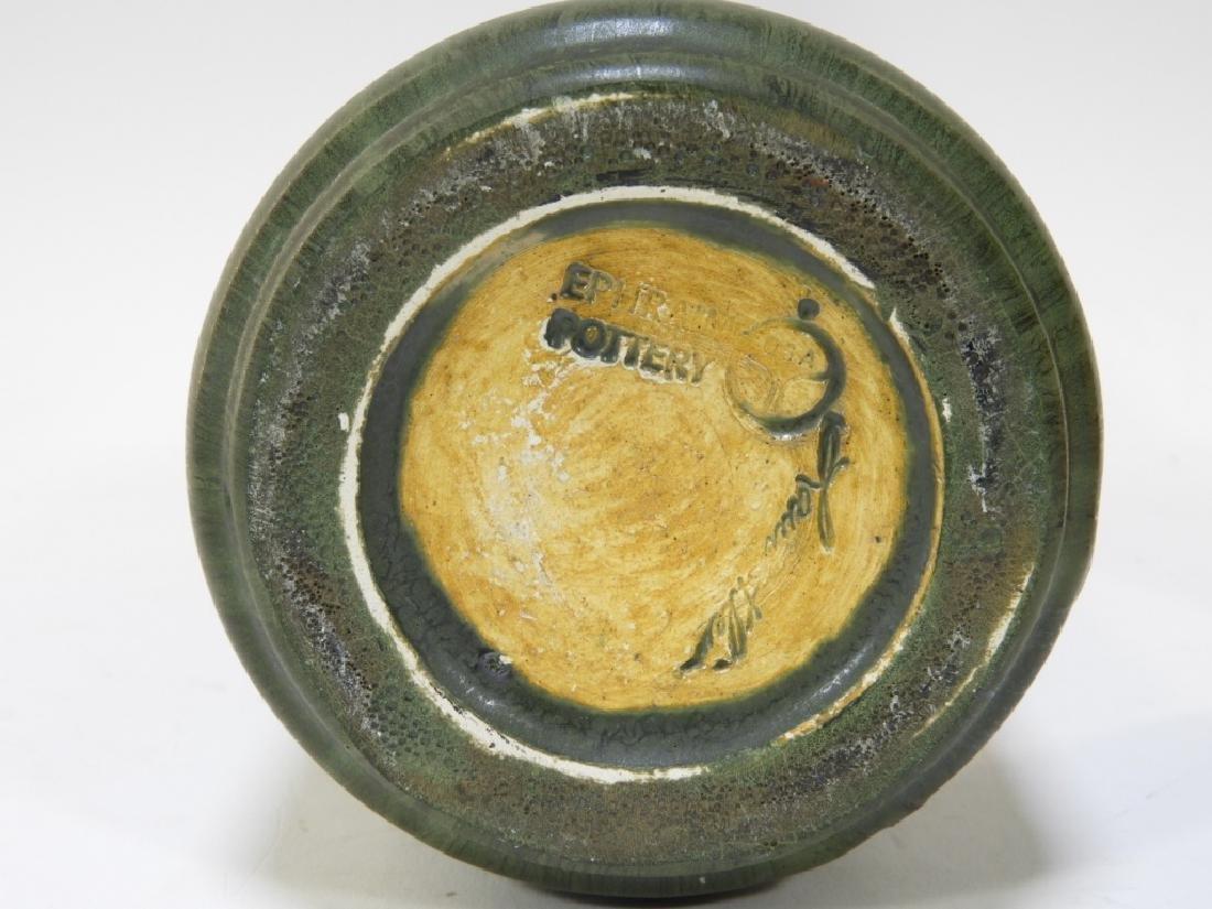 Laura Klein Ephraim Faience Pottery Bear Cub Vase - 6