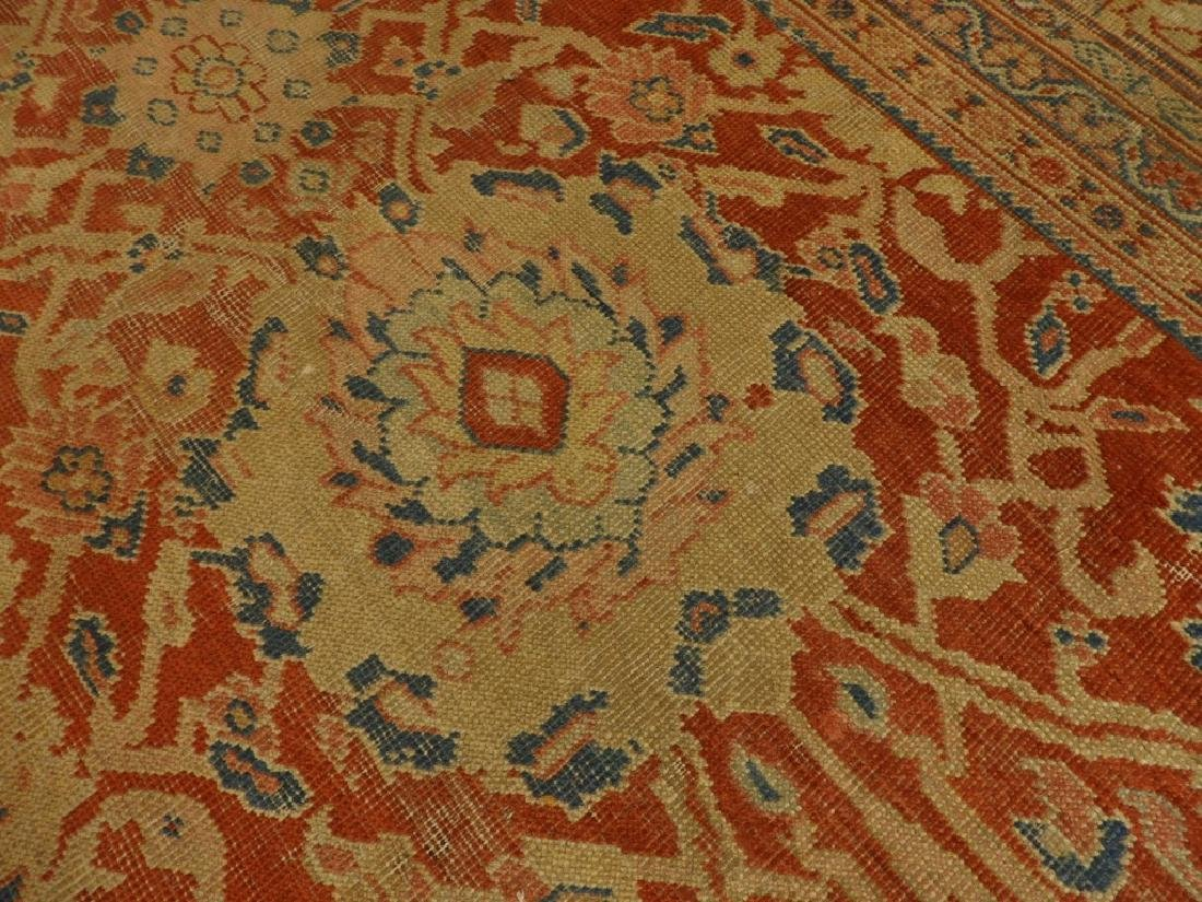 C.1880 Persian Sultanabad Room Size Carpet Rug - 10