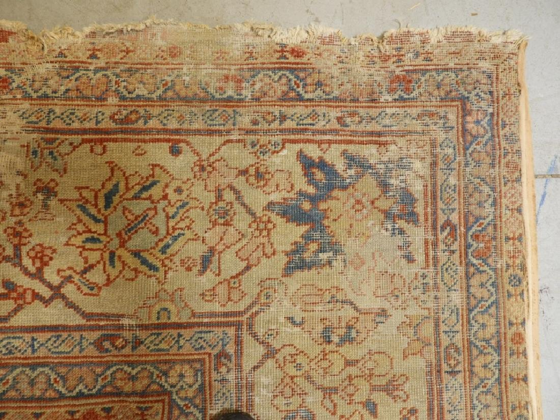C.1880 Persian Sultanabad Room Size Carpet Rug - 11