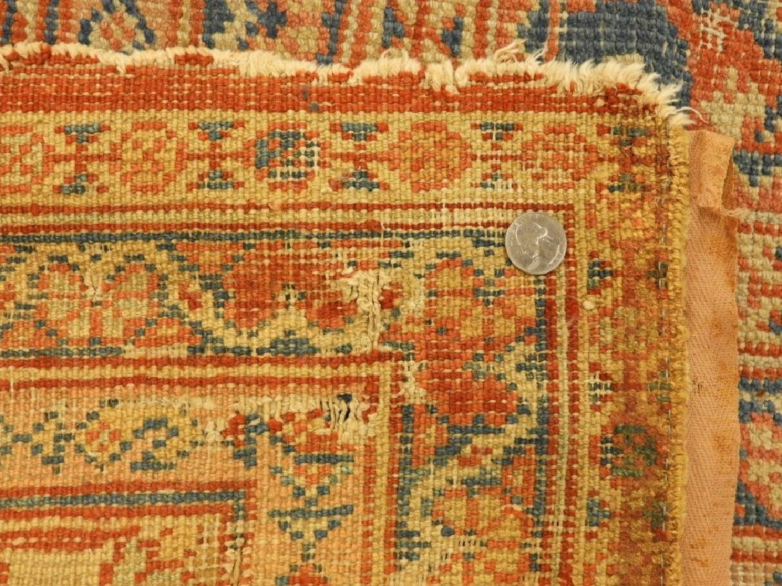 C.1880 Persian Sultanabad Room Size Carpet Rug - 12