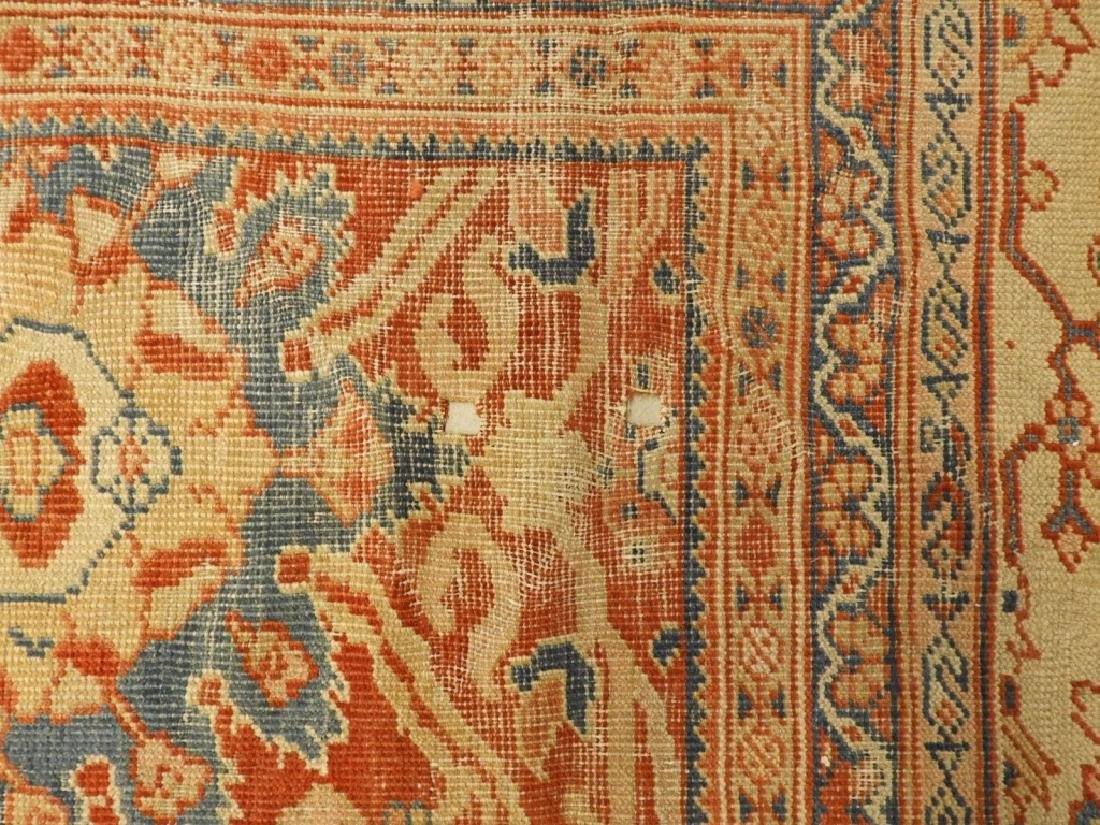 C.1880 Persian Sultanabad Room Size Carpet Rug - 6