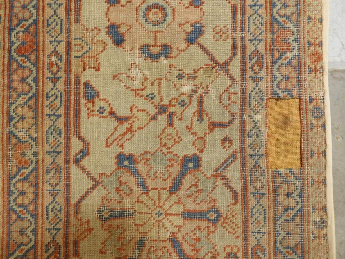 C.1880 Persian Sultanabad Room Size Carpet Rug - 8