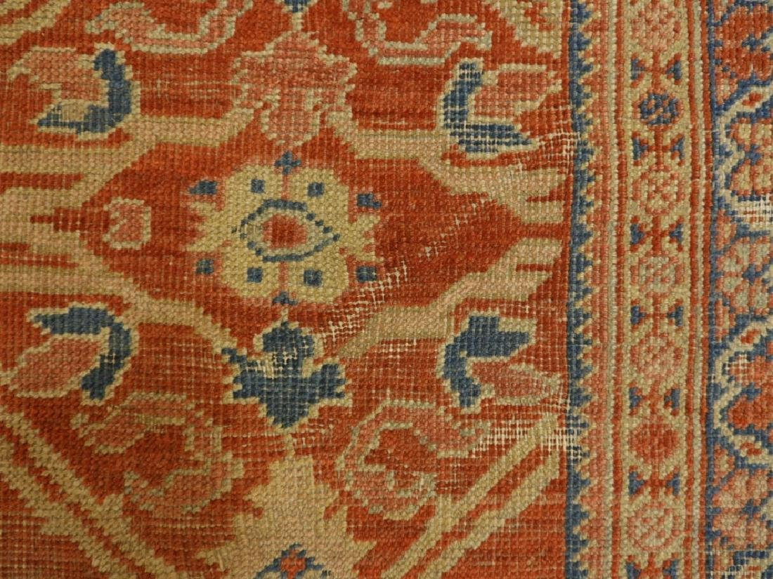 C.1880 Persian Sultanabad Room Size Carpet Rug - 9