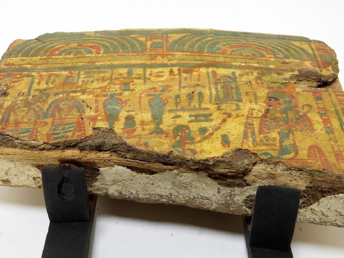 1500 BC Egyptian Canopic Jar Sarcophagus Fragment - 10