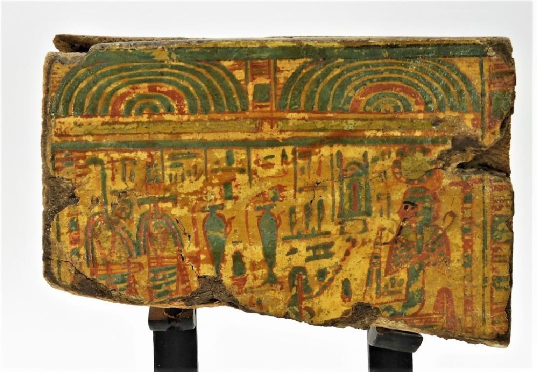 1500 BC Egyptian Canopic Jar Sarcophagus Fragment