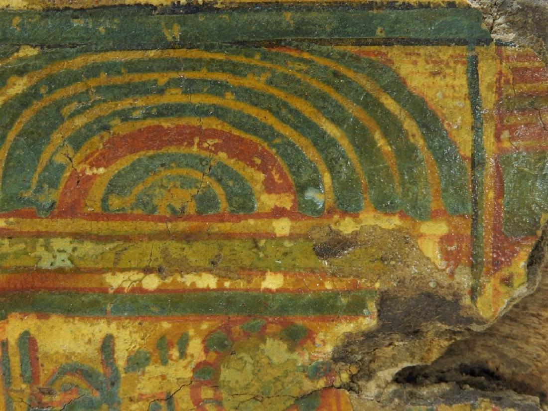 1500 BC Egyptian Canopic Jar Sarcophagus Fragment - 4