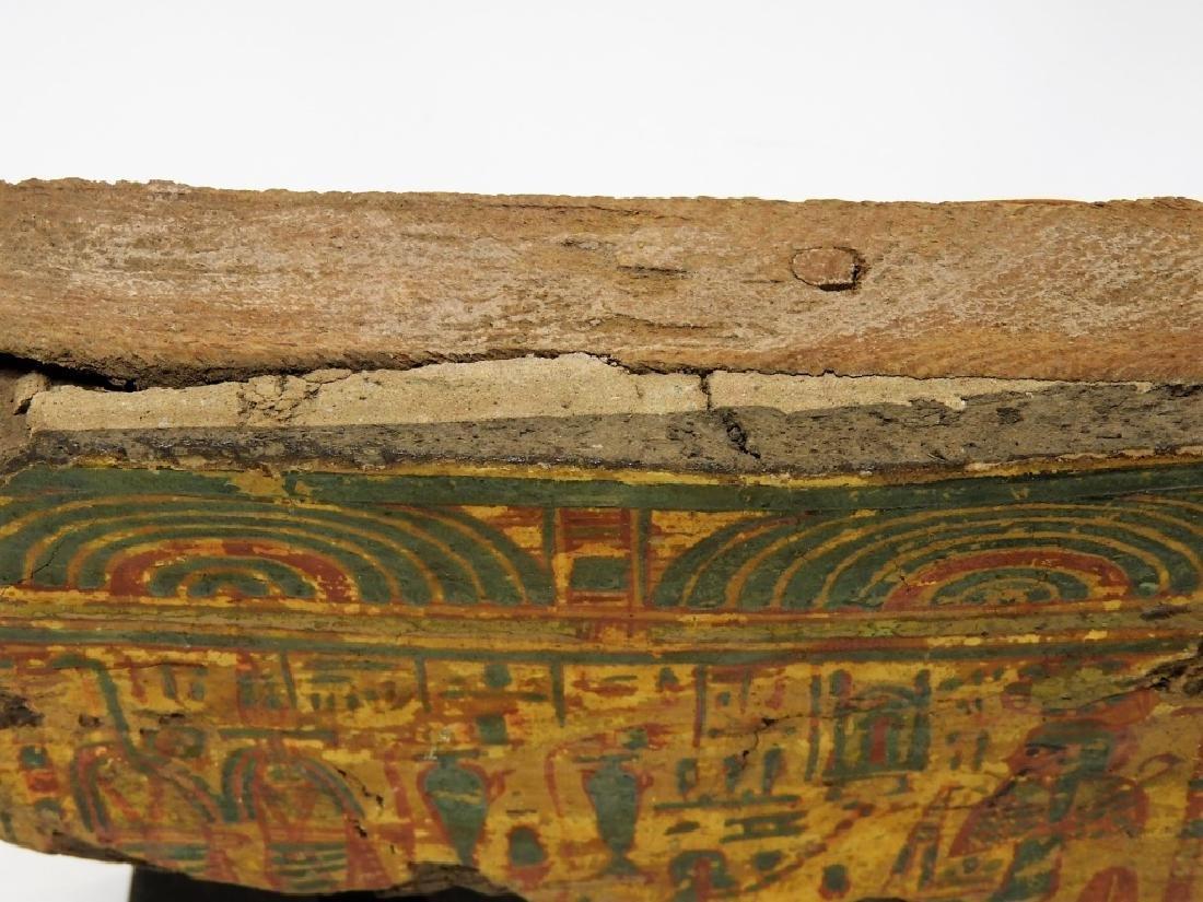 1500 BC Egyptian Canopic Jar Sarcophagus Fragment - 6