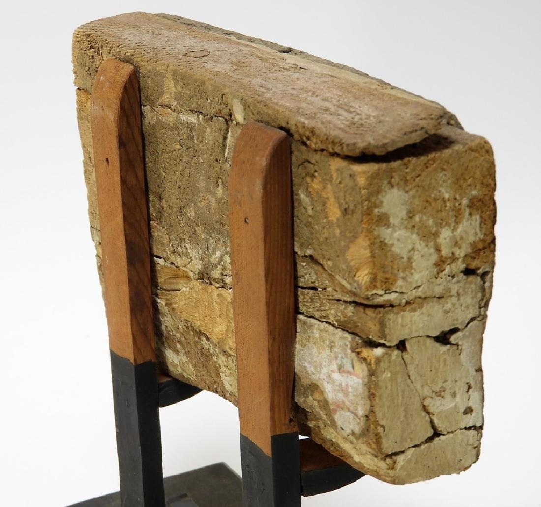 1500 BC Egyptian Canopic Jar Sarcophagus Fragment - 7