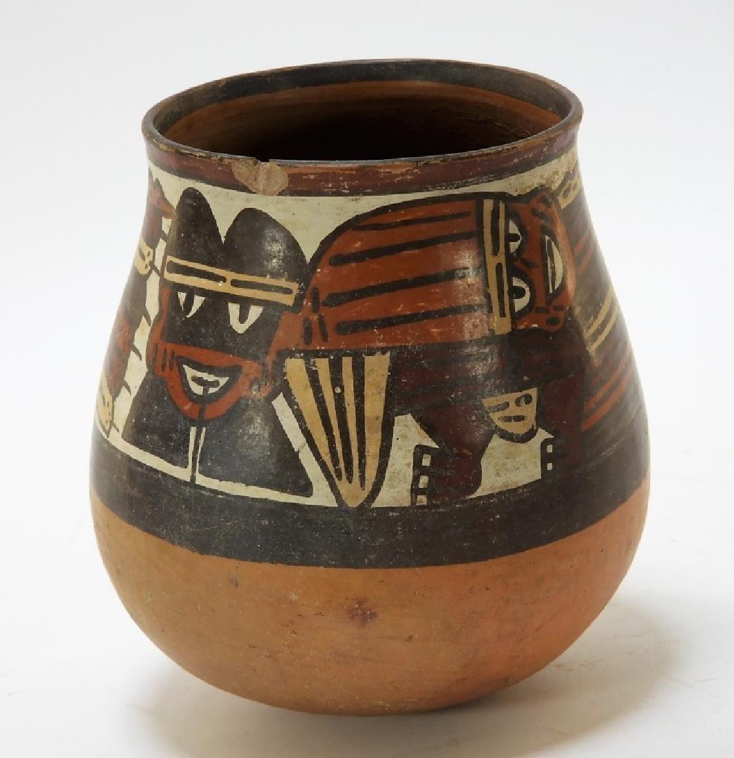 Ancient Pre-Columbian Nazca Polychrome Vessel - 2