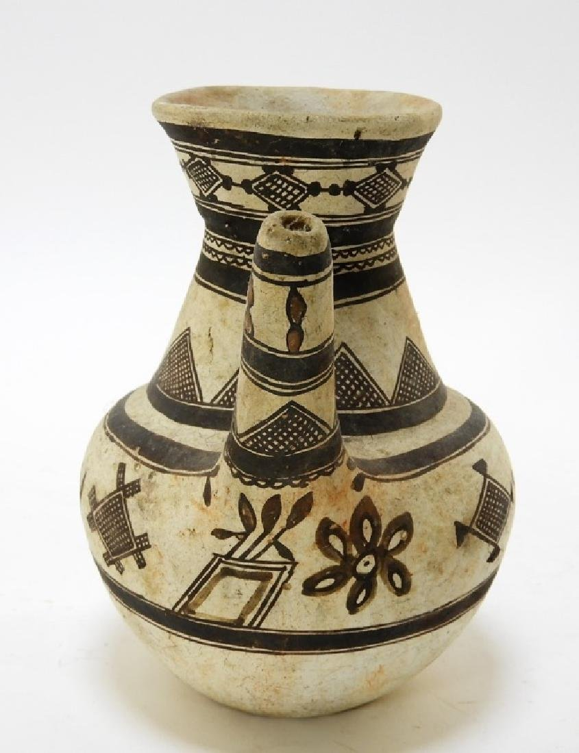 19C. American Indian Zuni Tribe Handled Vessel - 4