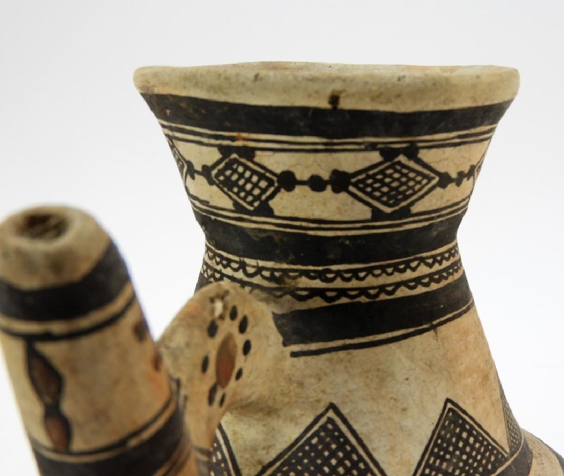19C. American Indian Zuni Tribe Handled Vessel - 5