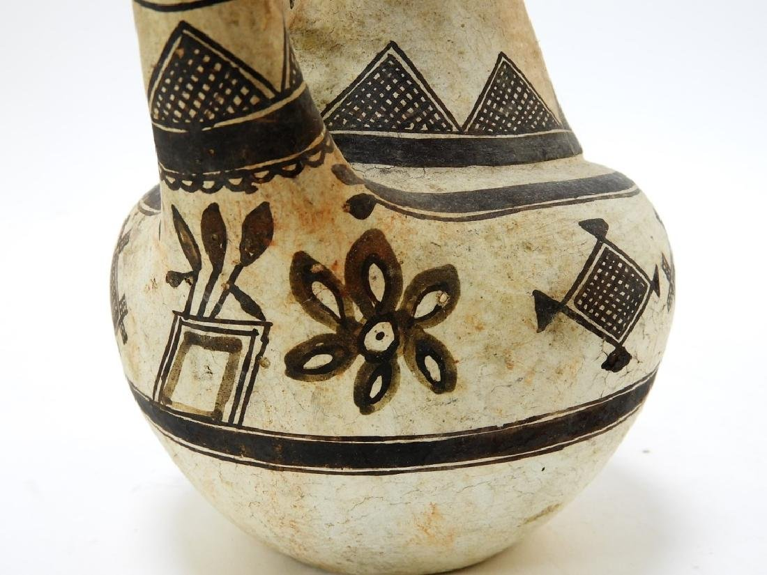 19C. American Indian Zuni Tribe Handled Vessel - 6