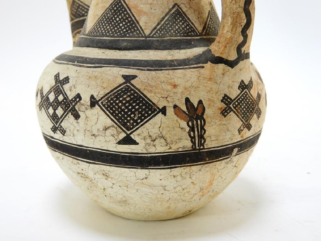 19C. American Indian Zuni Tribe Handled Vessel - 7