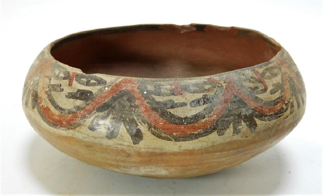 Three Pre-Columbian Pottery Nazca Culture Bowls - 2