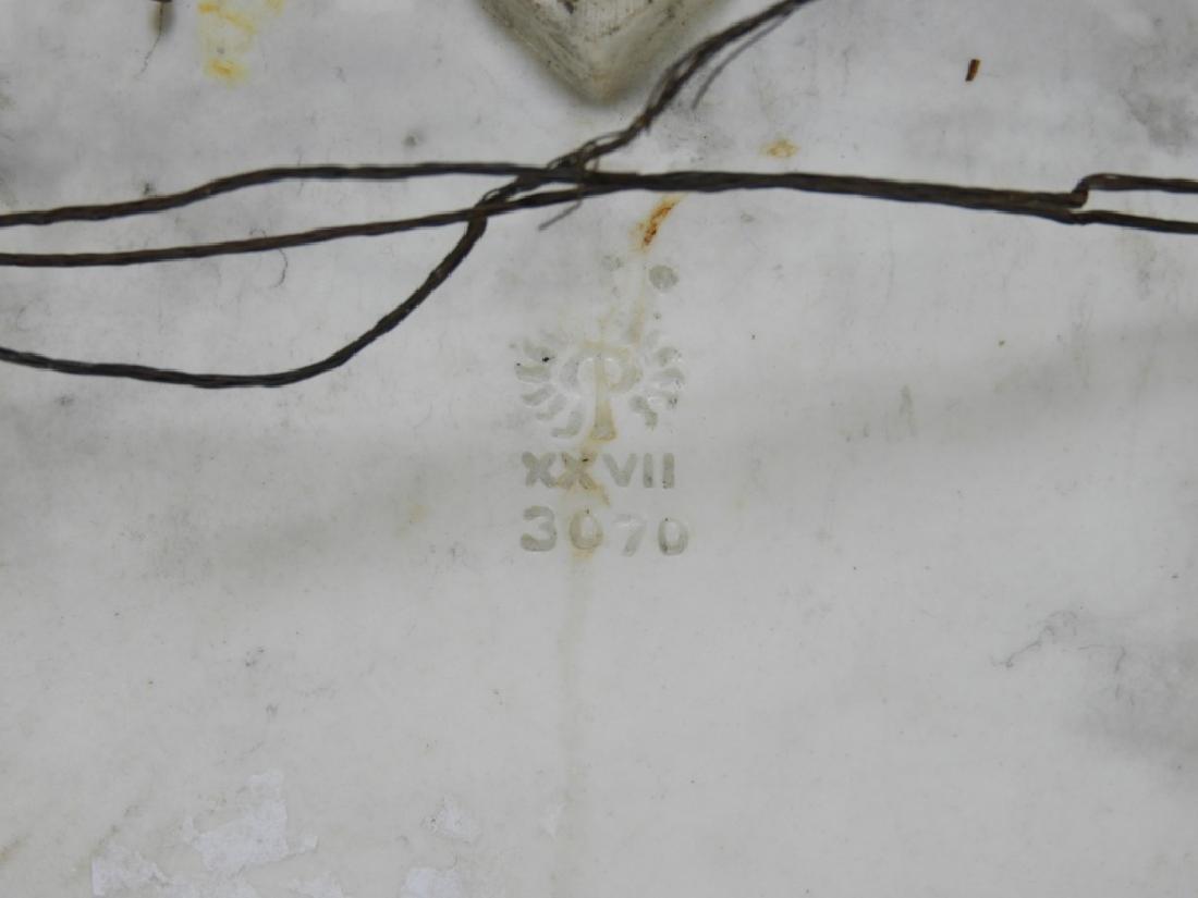 Rookwood Pottery Vellum Southern Belle Tile Trivet - 6