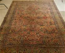 Oriental Persian Kerman Room Size Carpet Rug