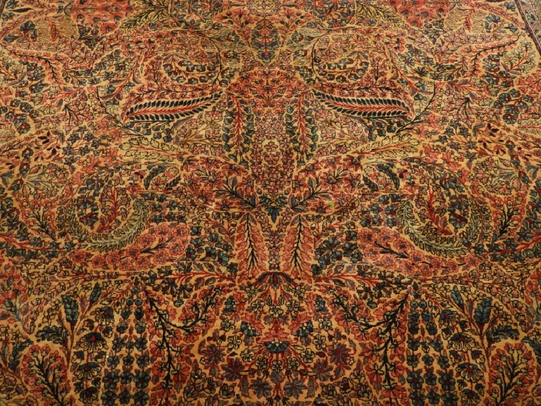 Oriental Persian Kerman Room Size Carpet Rug - 2