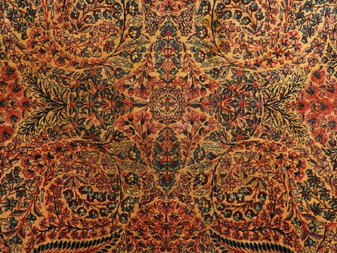 Oriental Persian Kerman Room Size Carpet Rug - 3