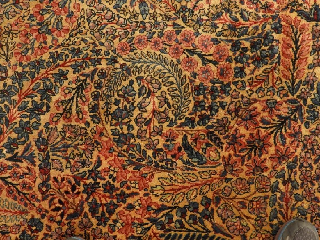 Oriental Persian Kerman Room Size Carpet Rug - 4
