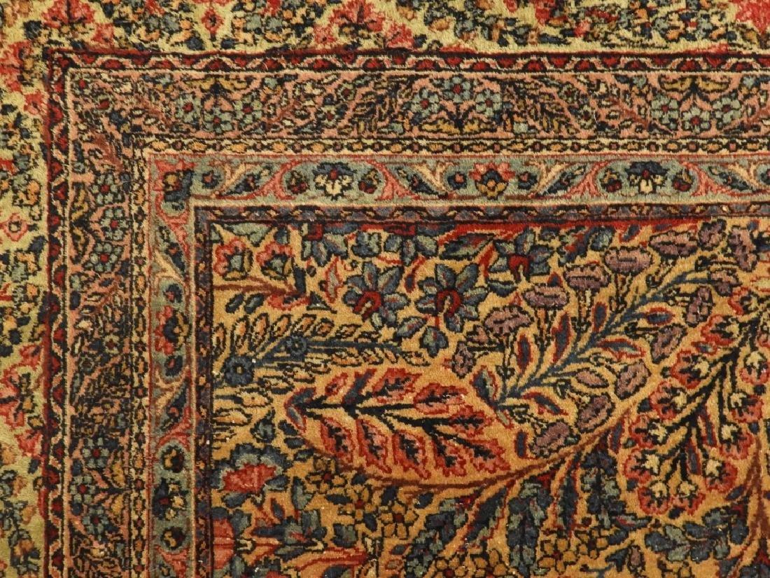 Oriental Persian Kerman Room Size Carpet Rug - 5