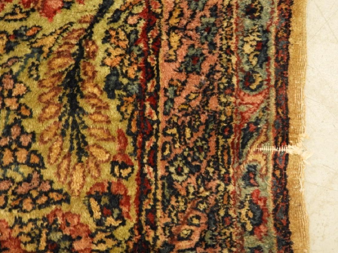Oriental Persian Kerman Room Size Carpet Rug - 7