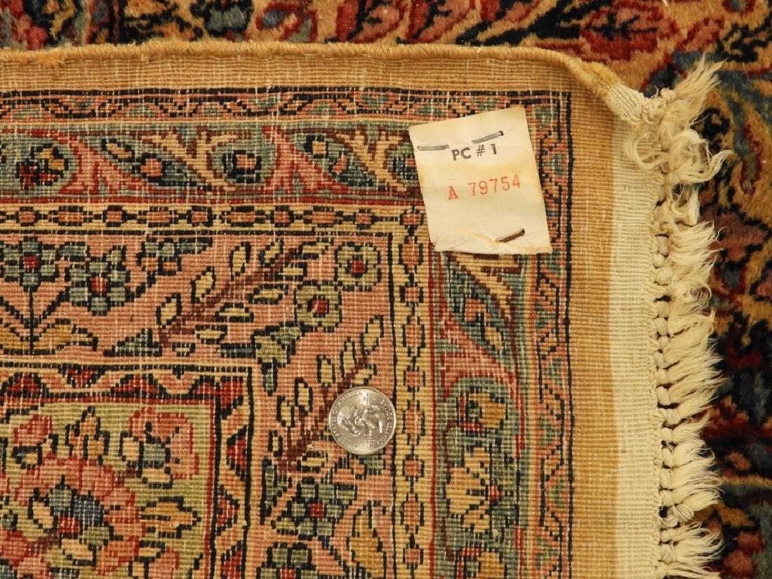 Oriental Persian Kerman Room Size Carpet Rug - 9