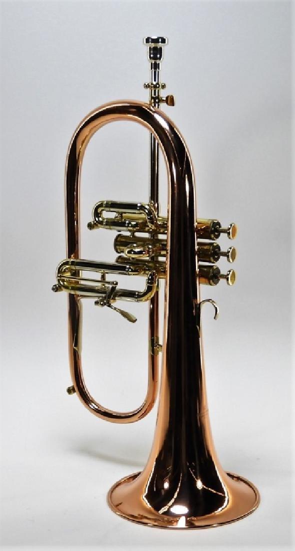Zigmant Kanstul Copper Plated Brass Flugelhorn