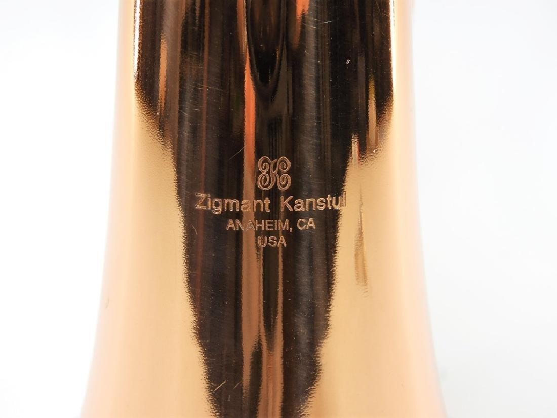 Zigmant Kanstul Copper Plated Brass Flugelhorn - 2