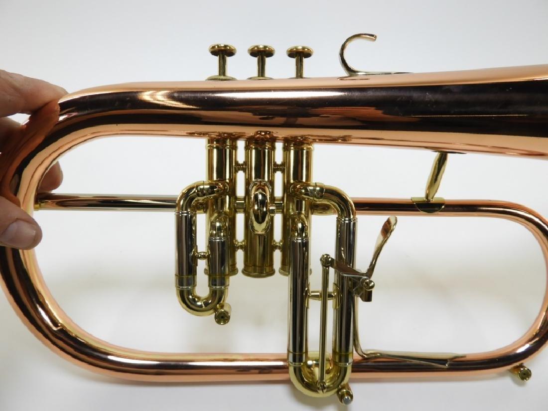 Zigmant Kanstul Copper Plated Brass Flugelhorn - 4