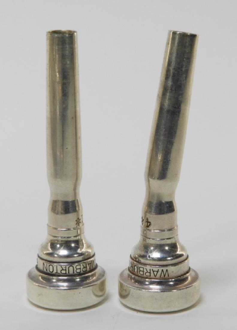 Buescher Aristocrat Silver Plated Brass Trumpet - 9