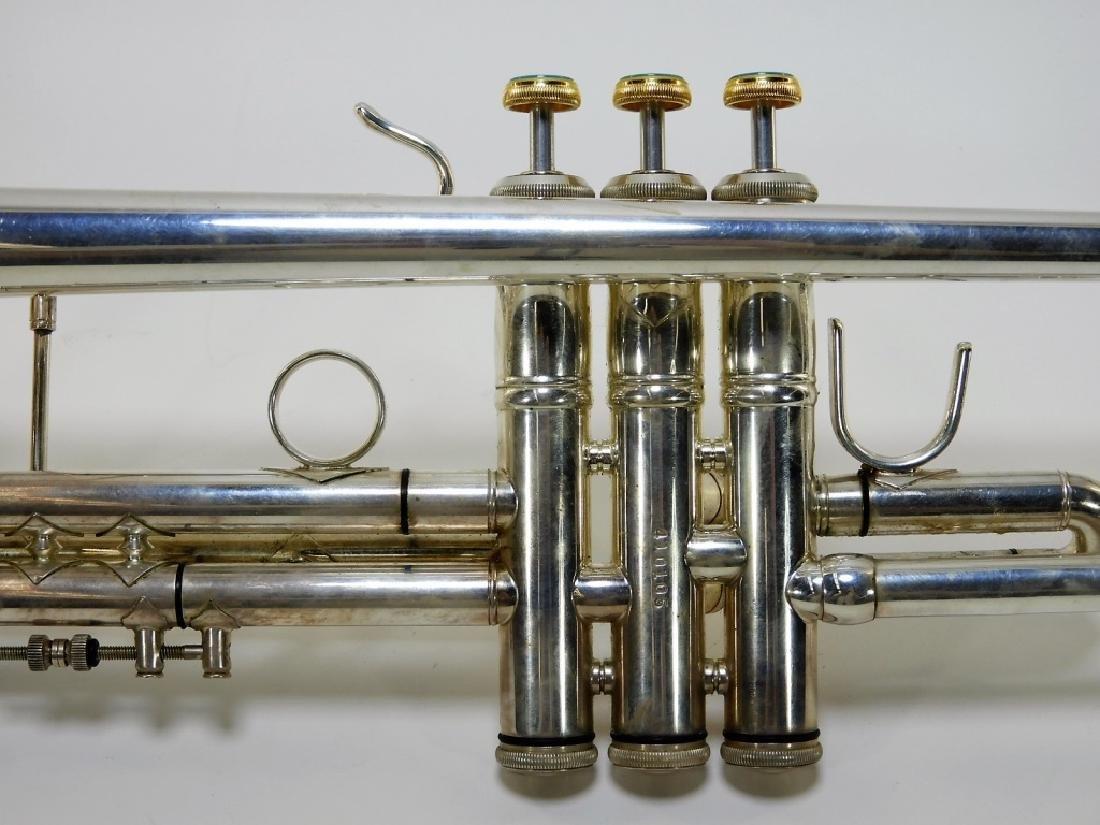 Bach Stradivarius Model 43 Sterling Silver Trumpet - 7