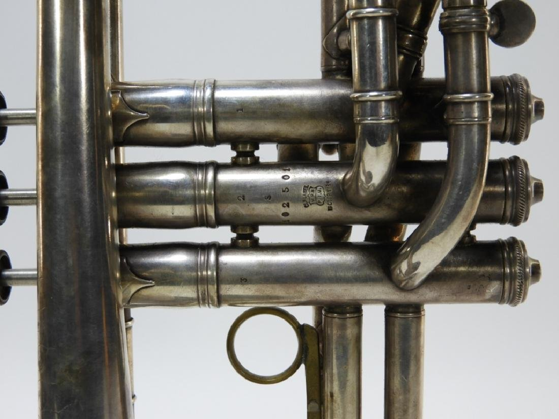 1907 C. G. Conn LTD Elkhart Cornet Director Horn - 5