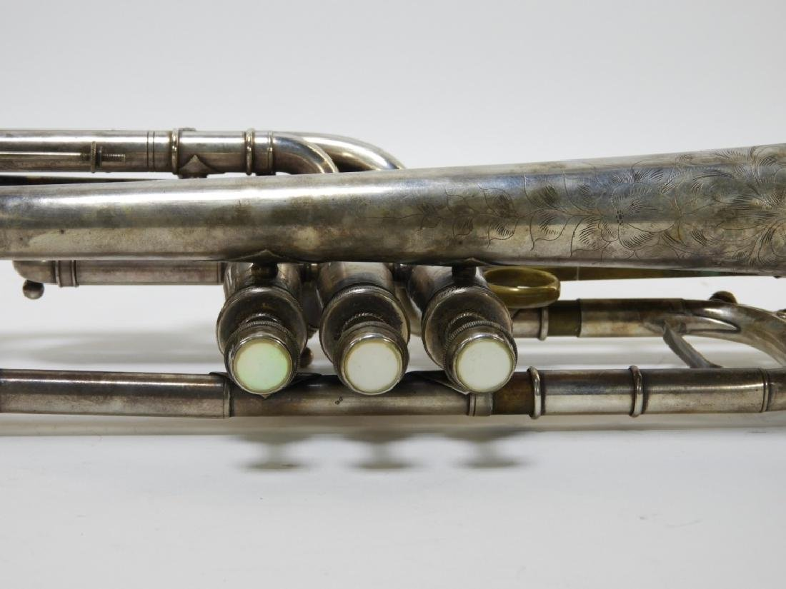 1907 C. G. Conn LTD Elkhart Cornet Director Horn - 6